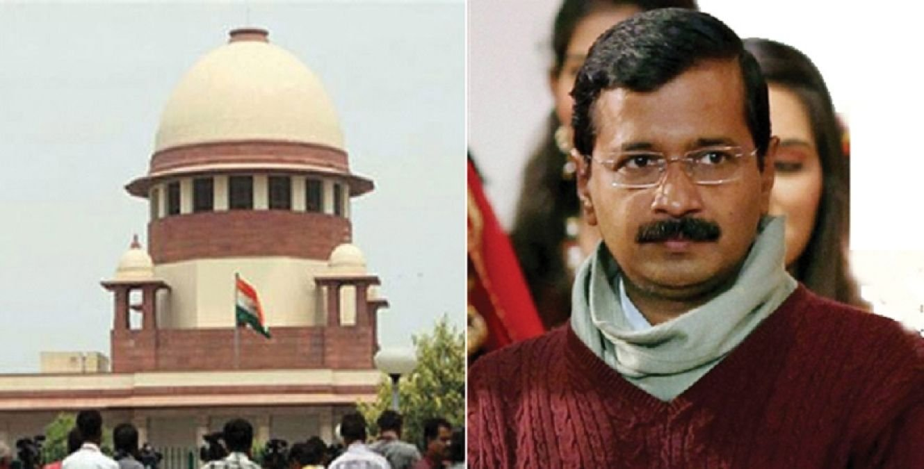 Delhi CM Arvind kejariwal and Supreme court