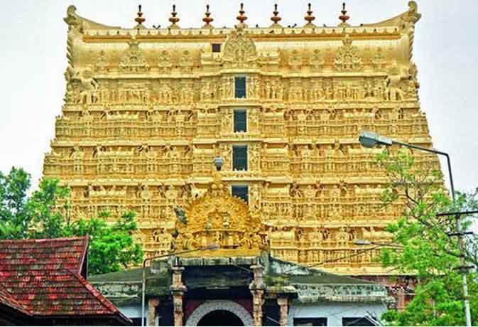 Padmanabhaswamy temple.