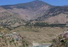 GREEN VALLEY A view of Premnagar town, some 215 km from Jammu city in Jammu and Kashmir, UNI