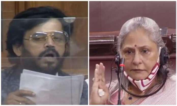 Jaya Bachchan and Ravi Kishan