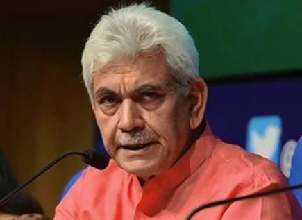 LG Manoj Sinha