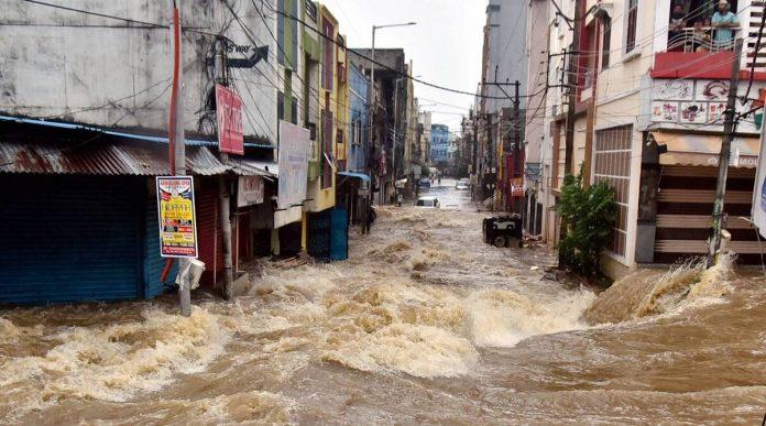 rains in Hyderabad on Saturday evening