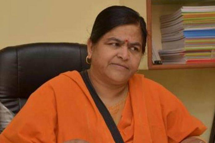 Madhya Pradesh Minister Usha Thakur