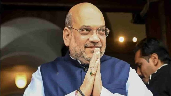 Amit Shah Celebrated his 56th birthday, Modi appreciates his efforts
