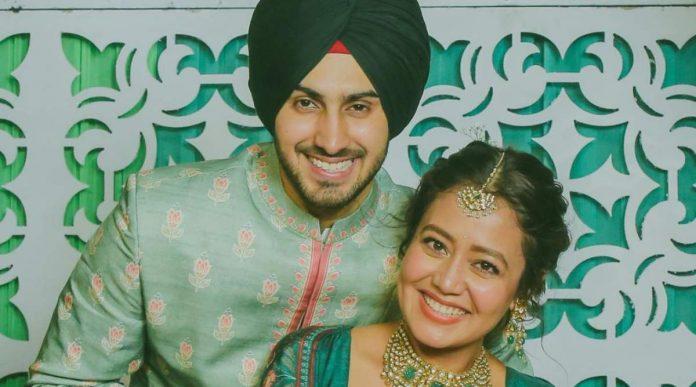 Neha Kakkar with Rohanpreet Singh