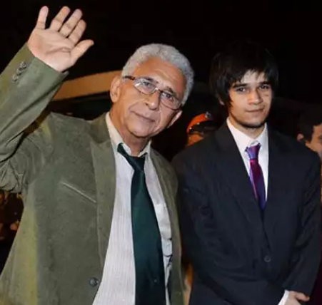 Naseeruddin Shah with son Vivaan