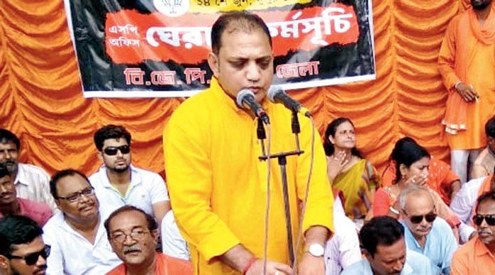 BJP leader Raju Banerjee