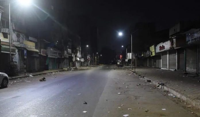 Night Curfew in Noida