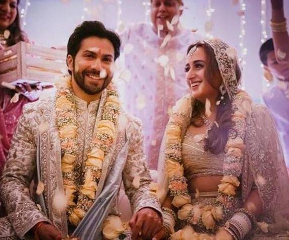 Varun Dhawan and Natasha'swedding