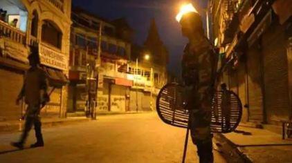 Night curfew in Punjab
