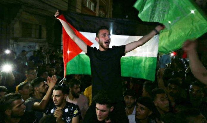 Gaza celebration