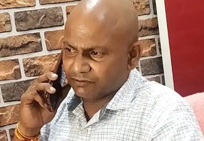 ABP Ganga correspondent from Pratapgarh Sulabh Srivastava