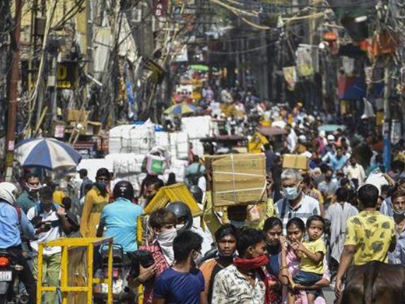 Covid explosion in Delhi