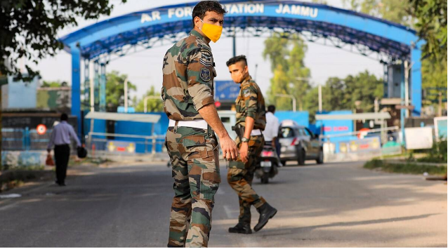 Indian Air Force station in Jammu