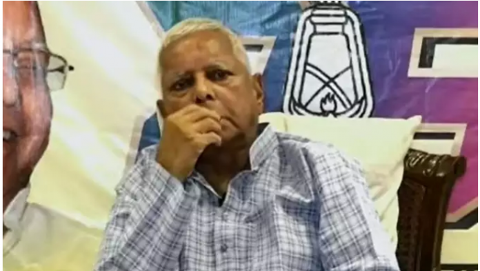 RJD chief Lalu Yadav