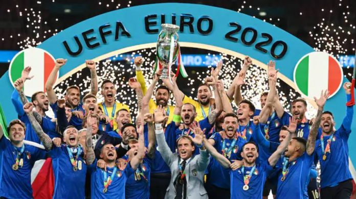 Italy crowned European champions