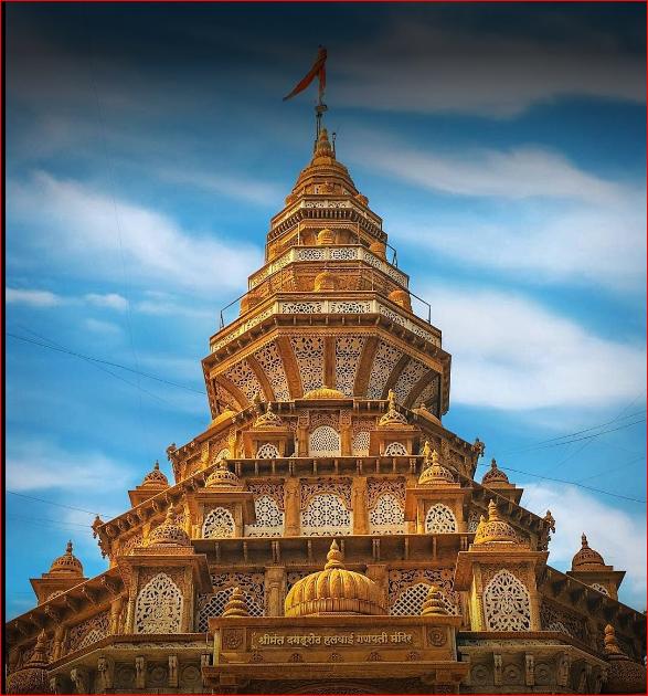 Shreemant Dagdusheth Halwai Mandir (Pune, Maharashtra)