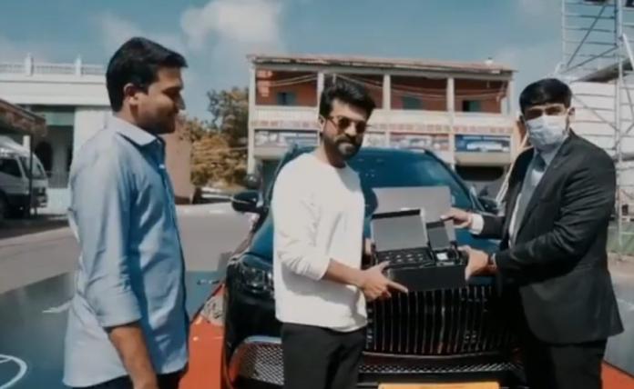 Telugu actor, Ram Charan