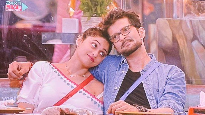 Raqesh Bapat and Shamita Shetty