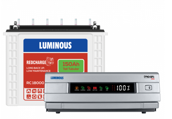 Luminous Most Popular Inverter with Battery