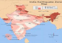 shaking from earthquakes shake northern India