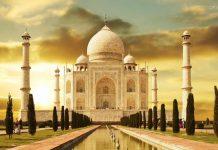 High alert in agra Taj Mahal