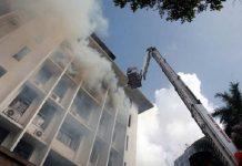 Lucknow secretariat fire in Bapu Bhavan