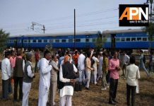 Rail accident in Madhya pradesh,9 injurd