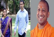 Mulayam Singh Yadav's younger son and his daughter-in-law met with chief minister Adityanatha yogi