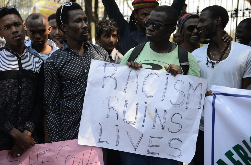 Nigerian students attack, Sushma sought report from UP government
