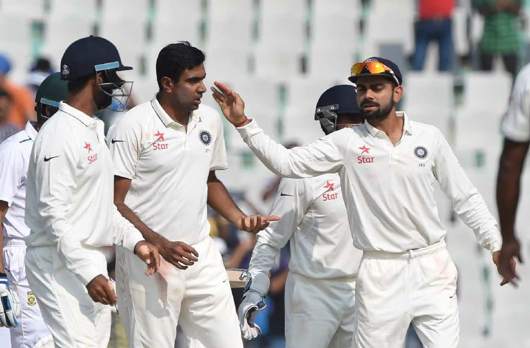 India won second test match in banglore