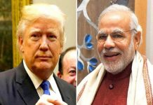 Donald Trump congratulated Narendra Modi for his victory