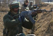 Two LeT terrorists died in operation in Pulwama, operation still on