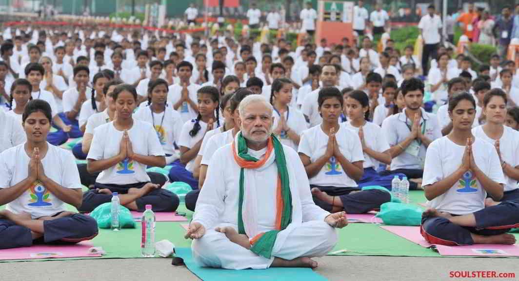 PM will be addressing Yoga Festival in Rishikesh