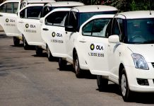 Ola cab driver crushes people in drunken state