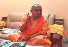 Yogi's first TV interview after becoming CM