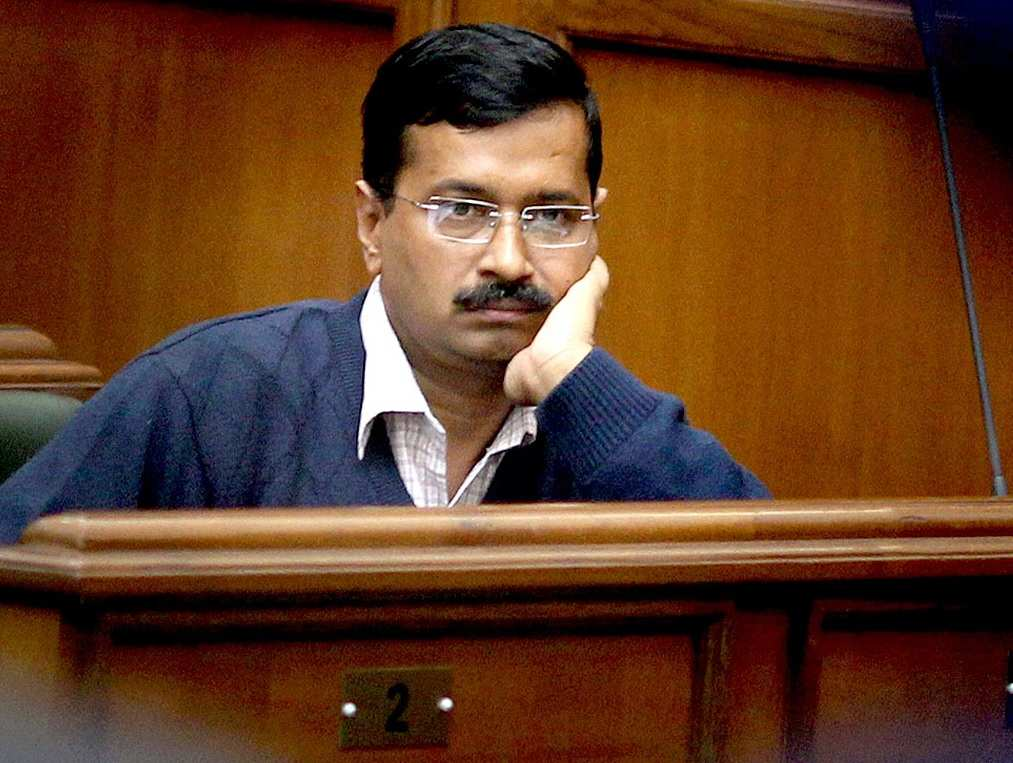 Kejriwal said election comission Dhritarashtra, BJP lodged complaint