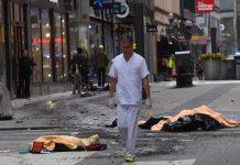 Terror attacks in Stockholm