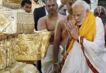 PM Modi also celebrates Navratri by fasting