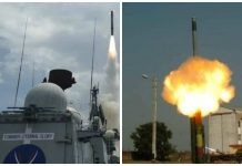 BrahMos supersonic cruise missile