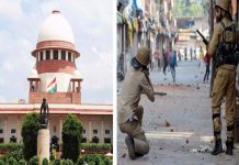 Hearing on petition related to use of pallet guns in Kashmir today