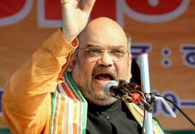 Amit Shah is on a two-day Tripura tour