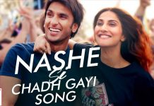 'Ranveer singh's 'Nashe Si Chadh gayi' song broke the record on YouTube, most viewed