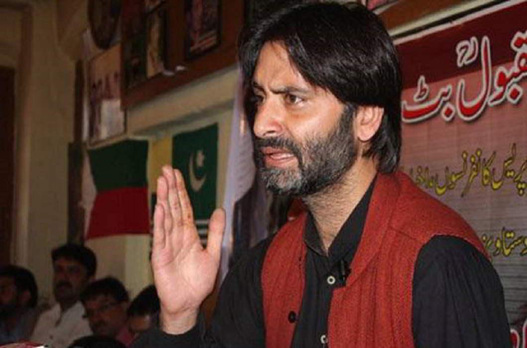 Yasin Malik Smashed journalist phone