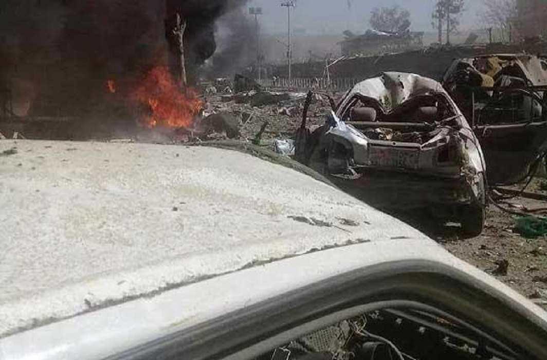 Big blast near the Indian Embassy in Kabul, 65 dead, 325 injured