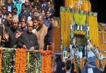President Pranab Mukherjee has visit on Badrinath.