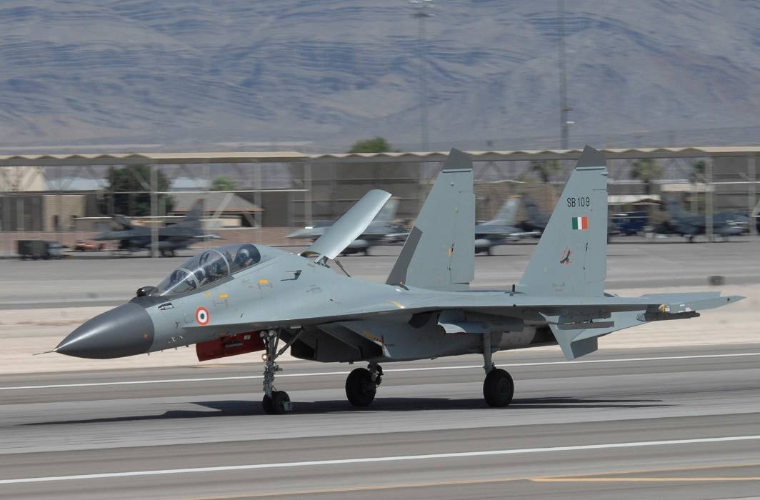 China said we do not know anything about the missing Sukhoi-30MKI