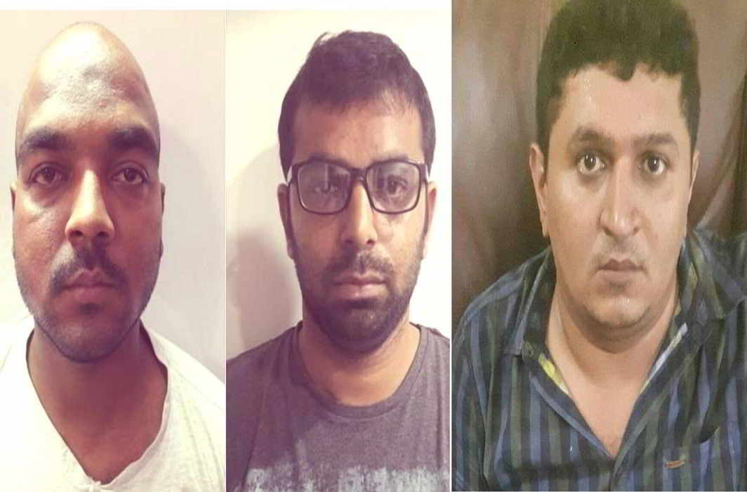 Three ISI agents arrested in joint action of UP and Mumbai Police