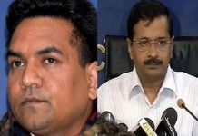 Kapil Mishra charged Kejriwal with Rs 400 crore scandal,