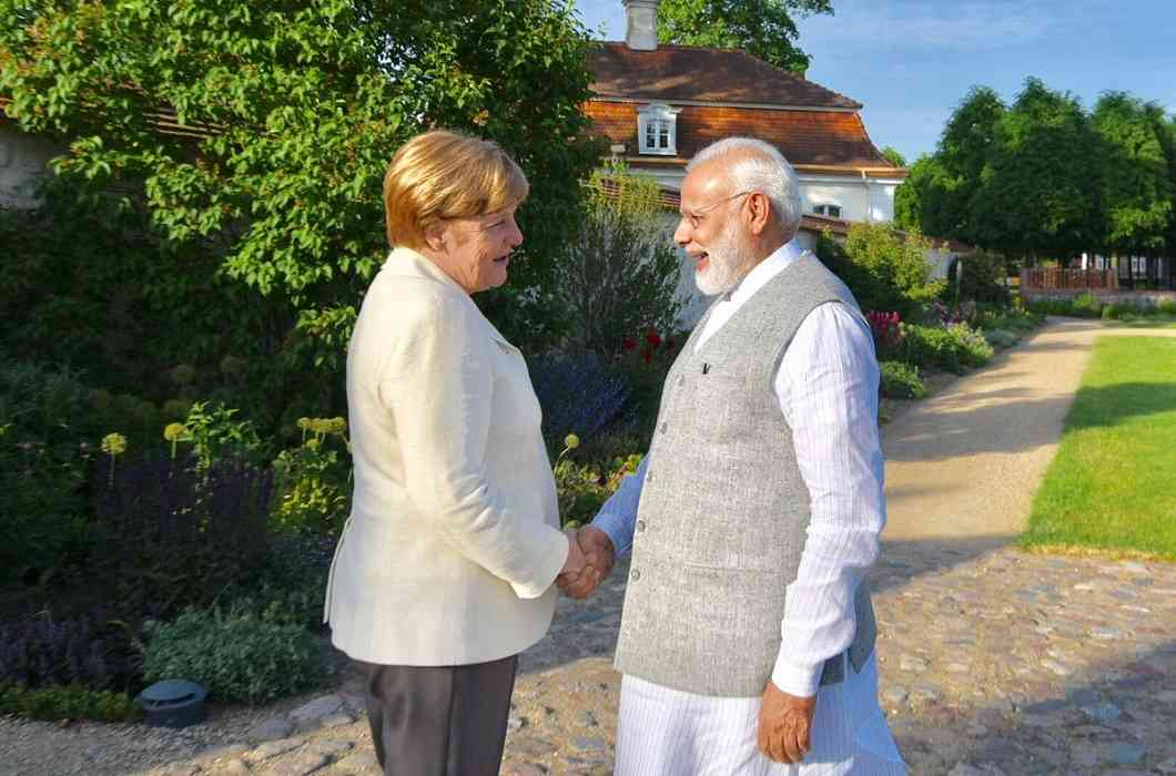 PM Modi went to Germany with 'Make in India' diplomacy